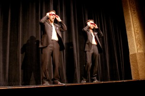 Myles and Matt are your hosts in 3-d