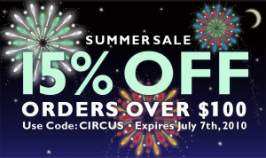 Summer Sale 2010 is here!