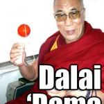 Dalai Lama loves kendama