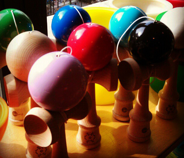 New Kendama in our NYC showroom