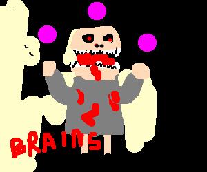 Juggling Zombie